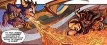 Spyro y Frightbeard