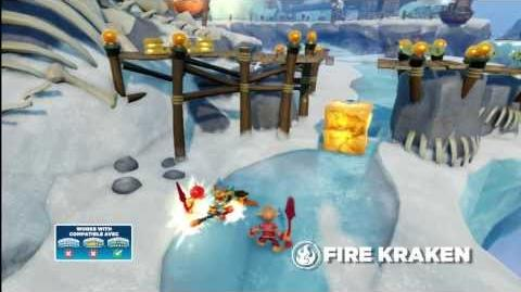 Meet the Skylanders Fire Kraken