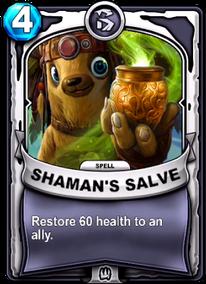 Shaman's Salvecard