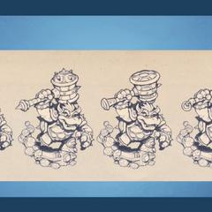 Concetos del mazo de Bowser.