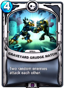 Graveyard Grudge Matchcard