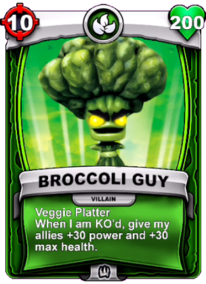 Veggie Platter - Special Ability (Passive)card