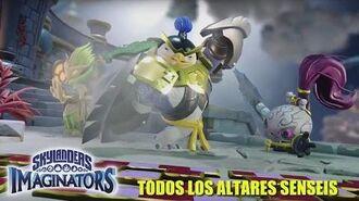 Skylanders Imaginators -Todos los Altares Senseis- En Español HD 1080p