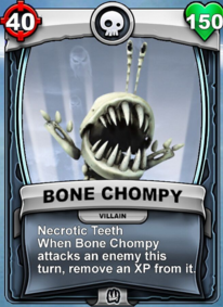 Necrotic Teeth - Special Abilitycard