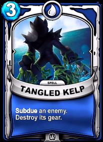 Tangled Kelpcard