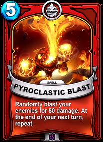 Pyroclastic Blastcard