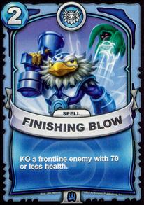 Finishing Blowcard
