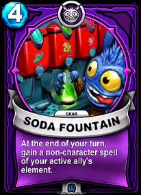 Soda Fountai - Engranecard