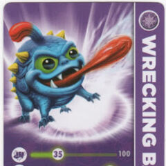Carta de Wrecking Ball serie 1
