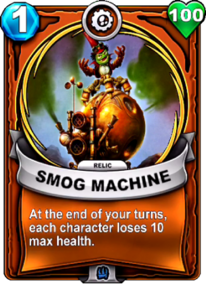 Smog Machine - Reliquiacard