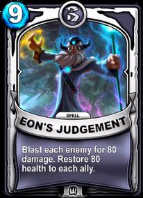 Eon's Judgementcard