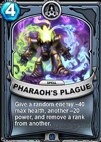 Pharaoh's Plaguecard