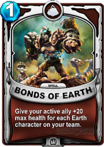 Bonds of Earthcard