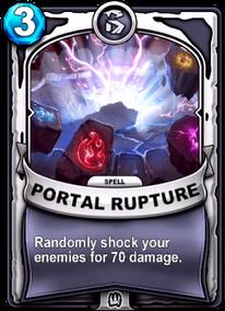 Portal Rupturecard