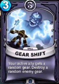Gear Shiftcard
