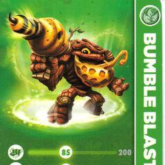 Carta de Bumble Blast