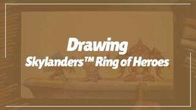 Skylanders™ Ring of Heroes Hand Drawing - Full ver