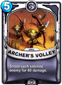 Archer's Volleycard