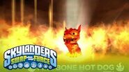 Meet the Skylanders Fire Bone Hot Dog l SWAP Force l Skylanders