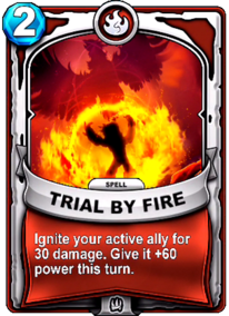 Trial By Firecard