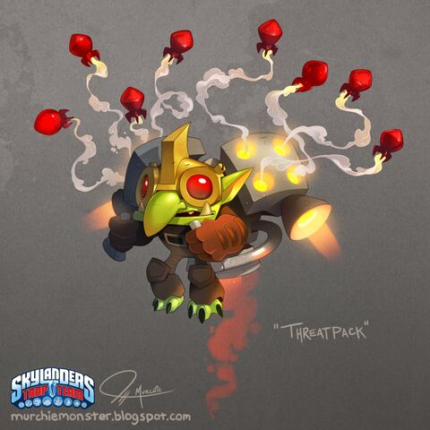 Concepto del diseño final de Threatpack