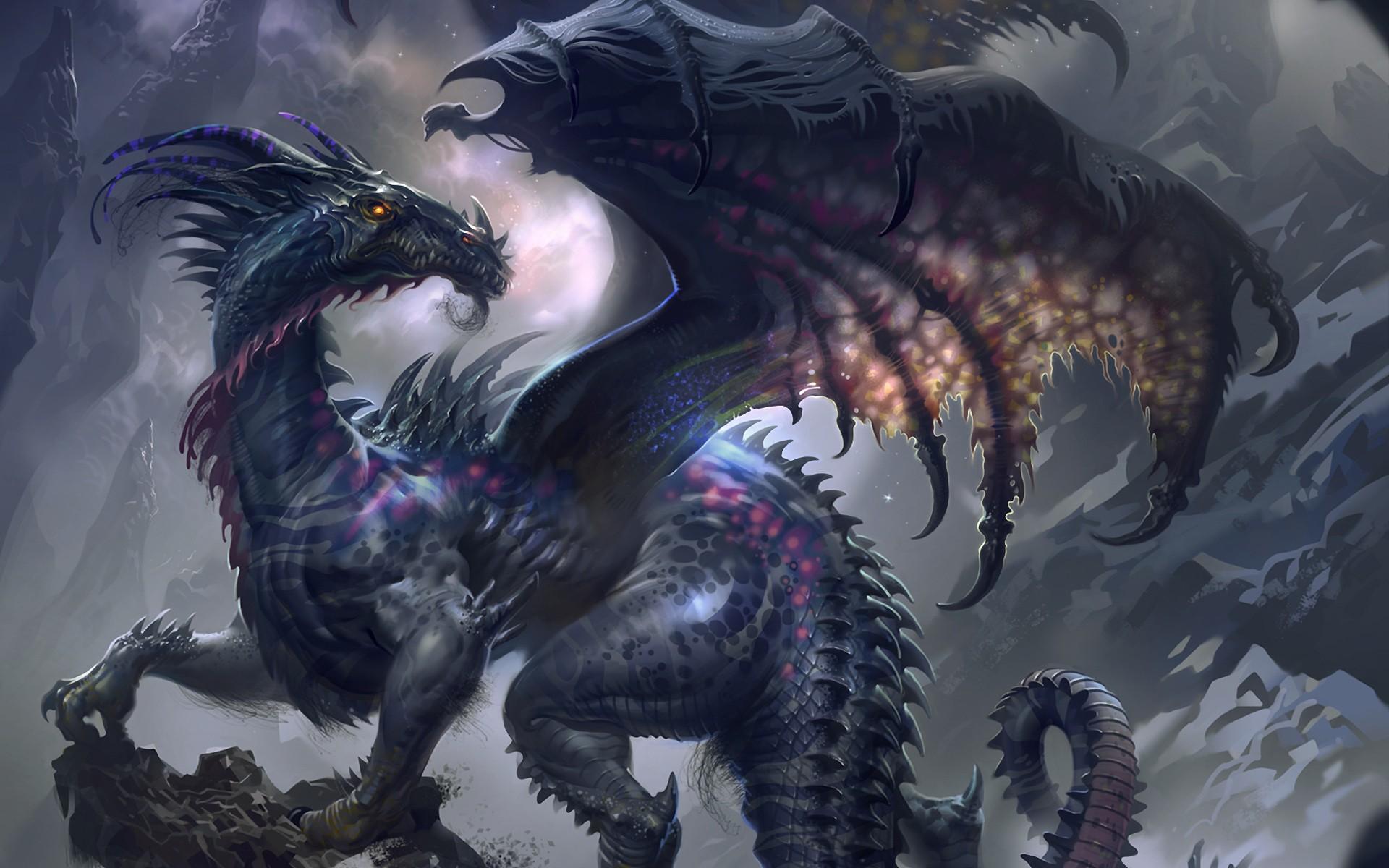 image - dark-dragon-hd-wallpaper | skylanders wiki | fandom