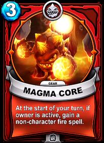 Magma Core - Gearcard