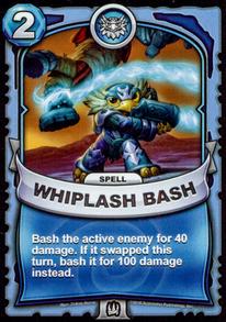 Whiplash Bashcard