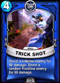 Trick Shotcard