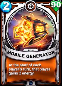 Mobile Generator - Reliccard