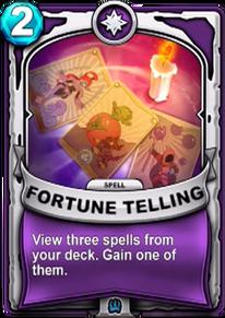 Fortune Tellingcard