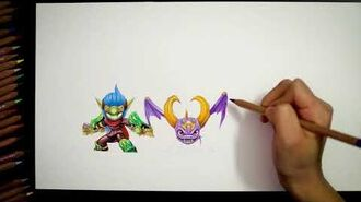 Skylanders™ Ring of Heroes Hand Drawing - Share it