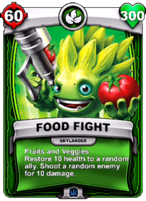 Fruits and Veggies - Special Abilitycard