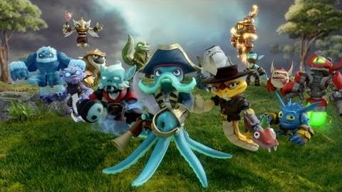 "Official Skylanders ""Just Like SWAP Force"" Trailer"