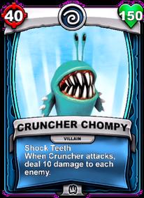 Shock Teeth - Special Abilitycard