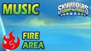♪♫ Fire Elemental Area Skylanders SWAP Force Music-0