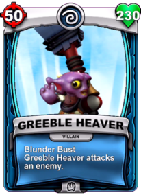 Blunder Bust - Special Abilitycard