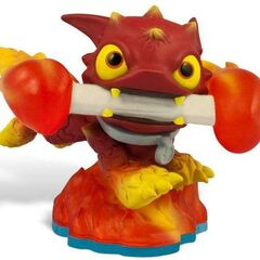 Figura de Fire Bone Hot Dog