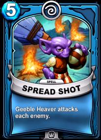 Spread Shotcard