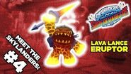 Meet the Skylanders SuperChargers Eruptor and Burn Cycle