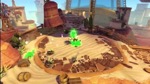 Skylanders Swap Force - Zoo Lou Gameplay Vignette (Nature Calls)