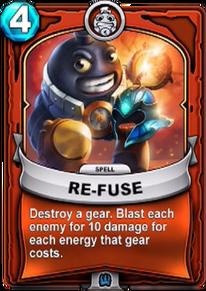 Re-fusecard