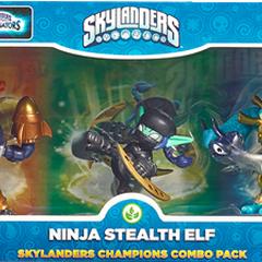 Countdown en triple paquete junto a Ninja Stealth Elf y Rip Tide
