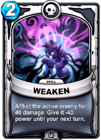 Weakencard