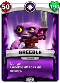 Greeble Lunge - Special Abilitycard