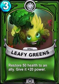 Leafy Greenscard