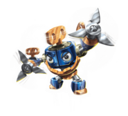 Wind-Up Transparent Render