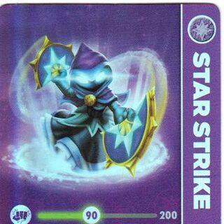 Carta de LightCore Star Strike