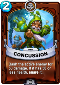 Concussioncard