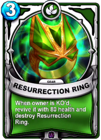 Resurrection Ring - Gearcard